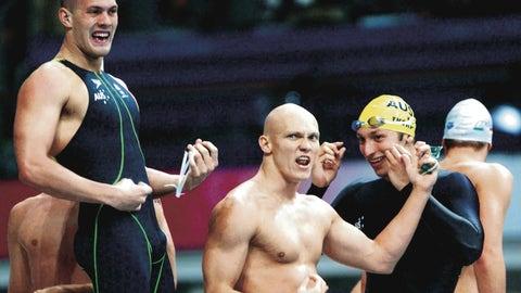 Gary Hall Jr. vs. the Australian relay team