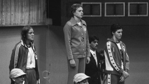 Shirley Babashoff vs. East German swim team