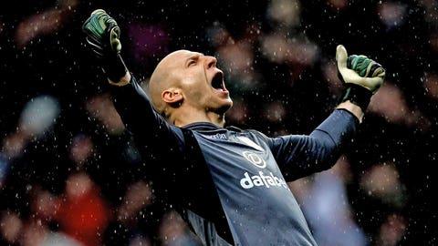 Brad Guzan, GK, Aston Villa