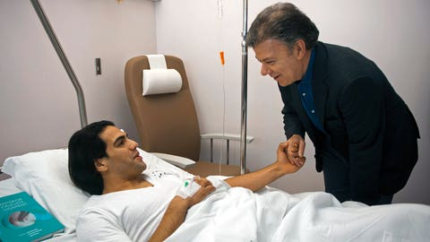 Will Radamel Falcao recover from his injury in time?