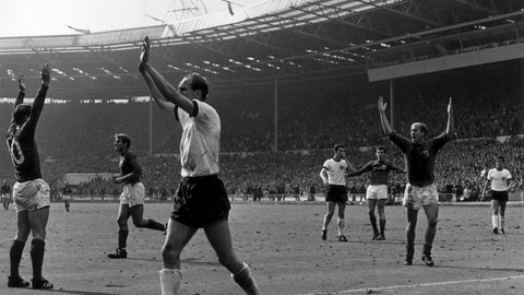 England's winning goal in 1966