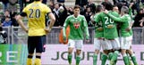 European hopefuls Saint-Etienne boost chances in win over Sochaux