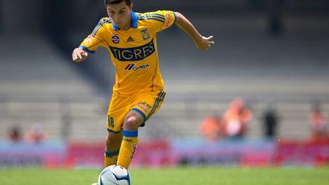 José Francisco Torres, Tigres midfielder