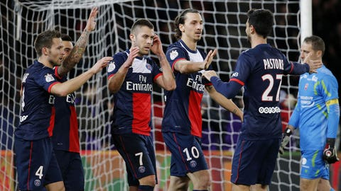 Paris Saint-Germain (Last week: Third)