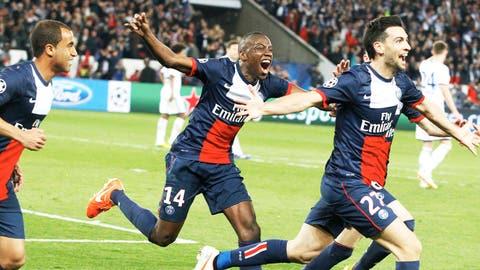 Paris Saint-Germain (Last week: Third)