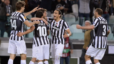 Juventus (Last week: Seventh)