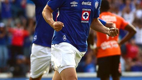 Michael Farfan, Cruz Azul midfielder