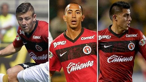 Paul Arriola, Edgar Castillo and Joe Corona, Club Tijuana