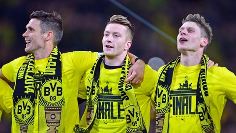 Borussia Dortmund (Last week: Not ranked)