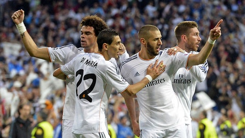 Real Madrid (Last week: Second)