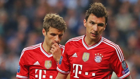 Bayern Munich (Last week: First)