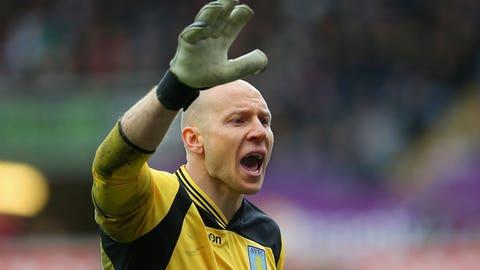 Brad Guzan, Aston Villa goalkeeper
