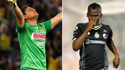 (4) Santos Laguna – (5) Club América