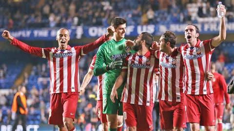 Atletico Madrid (Last week: Third)