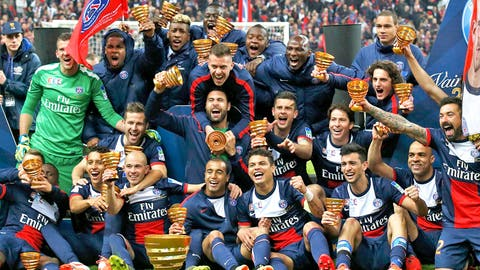 Paris Saint-Germain (Last week: Seventh)