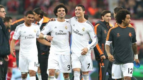 Real Madrid (Last week: First)