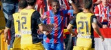 Papakouli Diop says Atletico fans racially taunted him