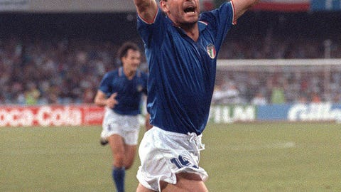 1990: Toto Schillaci, Italy, 6 goals