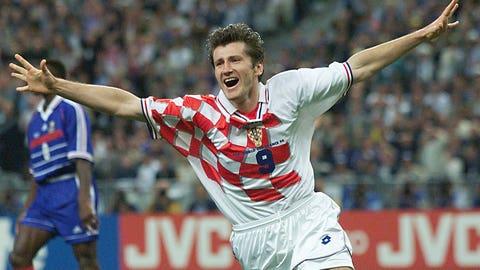1998: Davor Suker, Croatia, 6 goals
