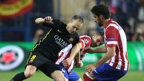 Barcelona will take on Atletico Madrid in the Copa del Rey semifinals