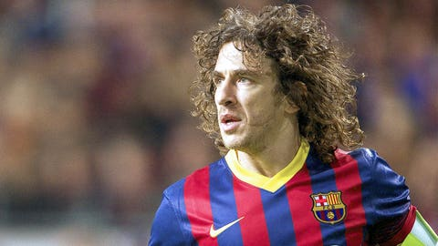 Carles Puyol - 120 appearances