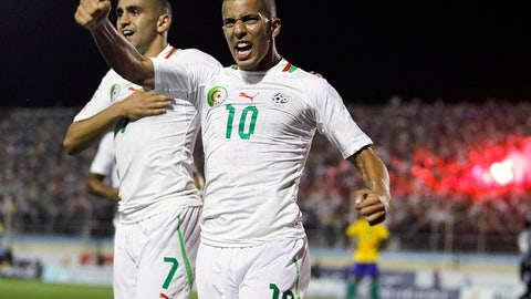 Key player: Sofiane Feghouli (Valencia)