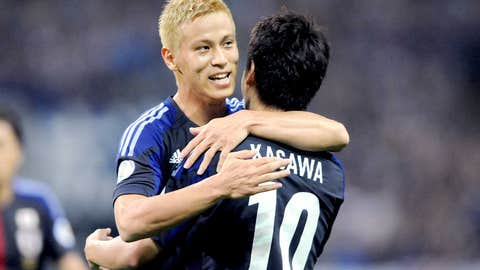 Key player: Keisuke Honda (AC Milan)