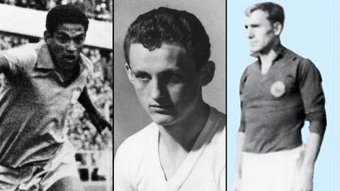 1962: Six players, five countries, 4 goals