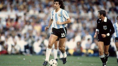 1978: Mario Kempes, Argentina, 6 goals