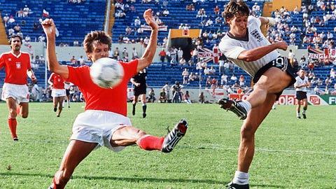 1986: Gary Lineker, England, 6 goals