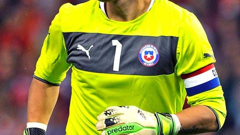 Claudio Bravo, Chile