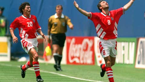 Bulgaria 2 Germany 1, New York, 1994