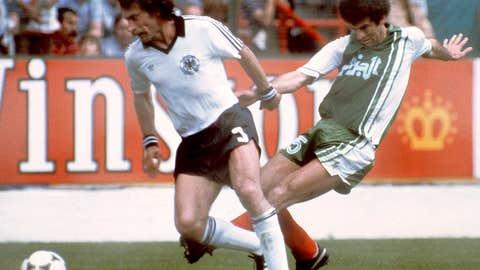 Algeria 2 West Germany 1, Gijon, 1982