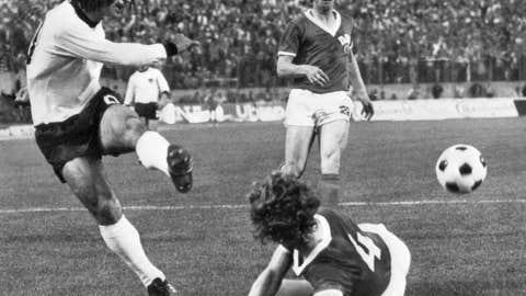 East Germany 1 West Germany 0, Hamburg, 1974