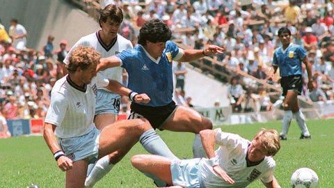 Diego Maradona vs. England 1986