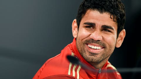 Spain boss Vicente Del Bosque highlights utility of Diego Costa