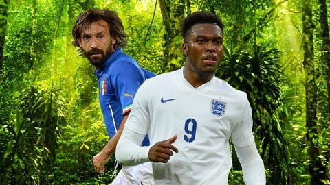 England-Italy highlights Saturday slate