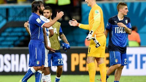 Italy outlasts England in the Amazon
