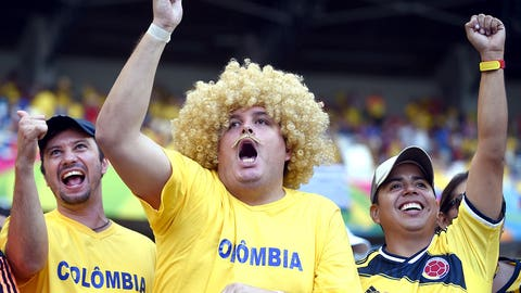 Carlos Valderrama sighting?