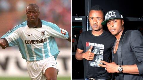 Abedi Pele and Jordan & Andre Ayew (Ghana/Marseilles)