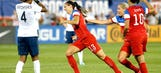 Alex Morgan strikes twice as Team USA women draw France