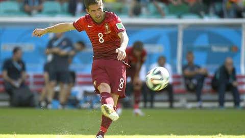 Portugal midfielder Joao Moutinho
