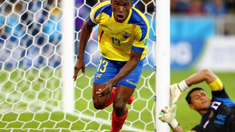 Ecuador, Switzerland jostle for a round of 16 place