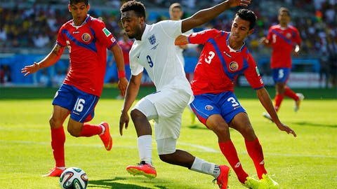 Costa Rica tops Group D