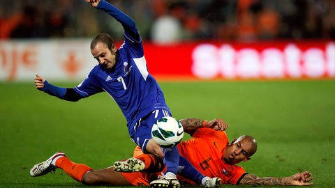 Nigel de Jong, AC Milan