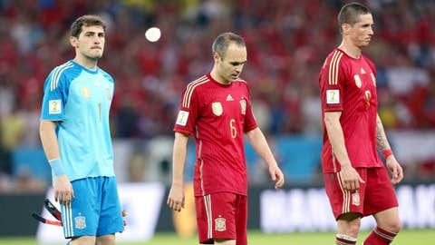Spain crash out of World Cup (June 18)