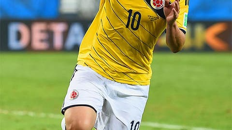 James Rodriguez, CM (Colombia)