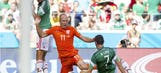 Arjen Robben admits he did dive, but defends himself against accusations