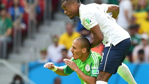 The flying Evra