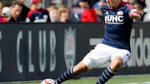Kelyn Rowe, New England midfielder